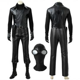 Spider-Man Noir Cosplay Costume Outfit