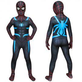 Spider-Man Secret War Suit Spiderman Kids 3D Jumpsuit