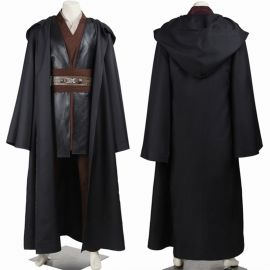 Star Wars Attack of the Clones Anakin Skywalker Cosplay Costume