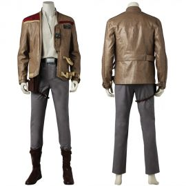 Star Wars The Last Jedi Finn Cosplay Costume