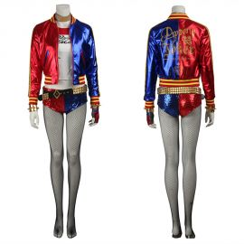 Suicide Squad Harley Quinn Cosplay Costume Outfit