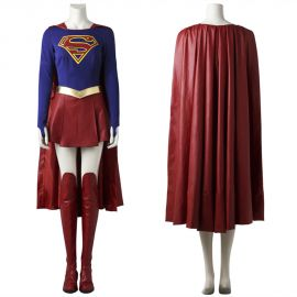 Supergirl Kara-El Cosplay Costume