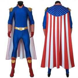 The Boys Season 1 Homelander Cosplay Costume
