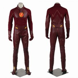 The Flash 1 Barry Allen Flash Cosplay Costume