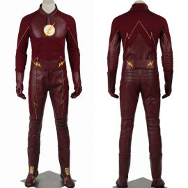 The Flash 2 Barry Allen Flash Cosplay Costume