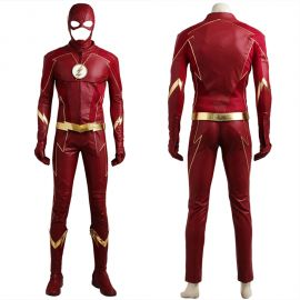 The Flash 4 Barry Allen Flash Cosplay Costume