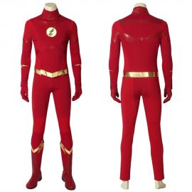 The Flash 5 Barry Allen Flash Cosplay Costume