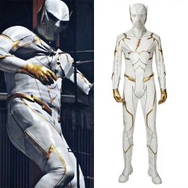 The Flash 5 Godspeed August Heart Cosplay Costume