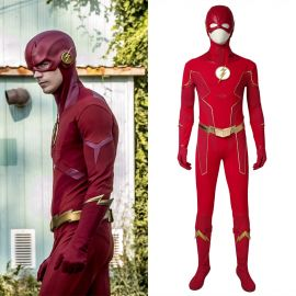 The Flash 6 Barry Allen Flash Cosplay Costume