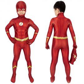 The Flash Season 6 Barry Allen Kids 3D Jumpsuit