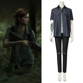 The Last of Us Part II Ellie Cosplay Costume