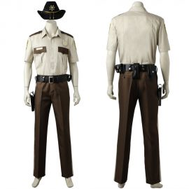 The Walking Dead Season 1 Rick Cosplay Costume