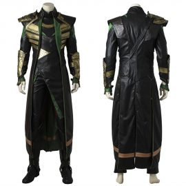 Thor The Dark World Loki Cosplay Costume Deluxe