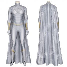 Wanda Vision White Vision 3D Cosplay Jumpsuit