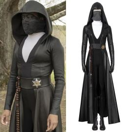 Watchmen Season 1 Sister Night Angela Abar Cosplay Costume
